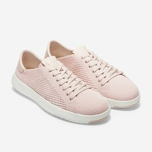 { cole haan } peach blush grandpro tennis sneakers